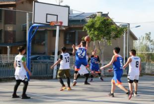 西昌市人民医院工会篮球兴趣小组